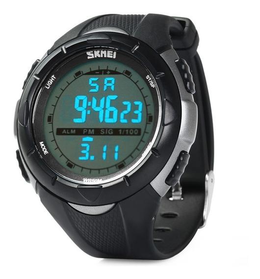 Relógio Skmei Led Esportivo Digital Sshock 1025 Original