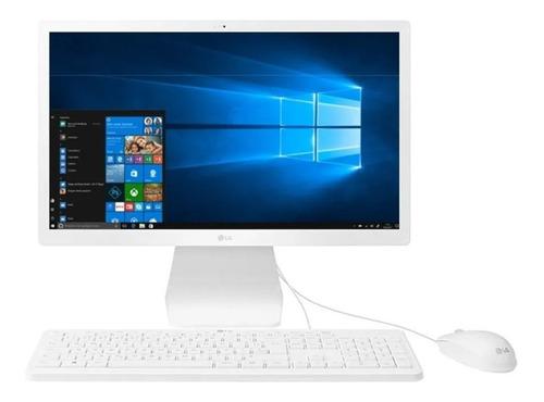 Imagem 1 de 4 de Computador Aio LG Tela 21.5 N4100 4gb Hd 500 Windows 10