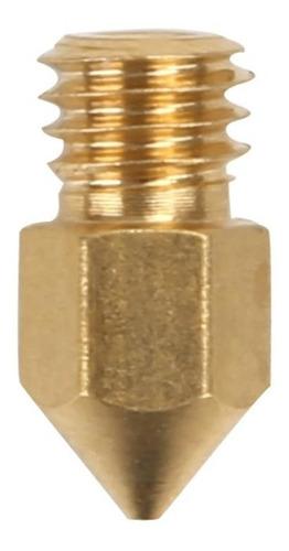 Imagen 1 de 2 de Nozzle Pico 0.6 Mm M6 Hot End Mk8 Ender 3