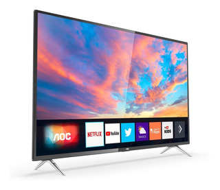Smart Tv 4k Led 50 PuLG Aoc 50u6295 Uhd Hdmi Netflix Youtube