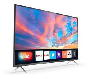 Smart Tv 4k Led 50 Pulg Aoc 50u6295 Uhd Hdmi Netflix Youtube