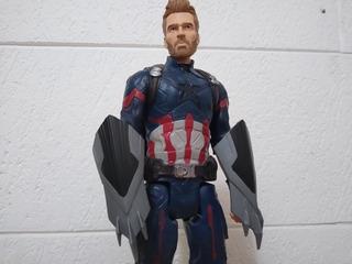 Capitan America Infinity War Titan Hero Power Fx