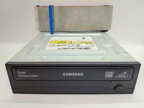 Drive Cd/dvd-r Samsung Sh-s202j + Cabo Flat Ide