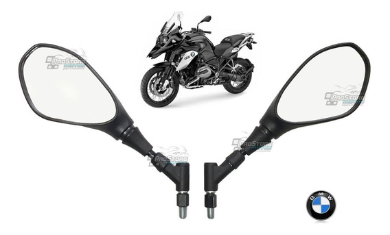 Retrovisor Gs 650 F800 Bmw H Curta Giro 360 Rosca Yamaha Par