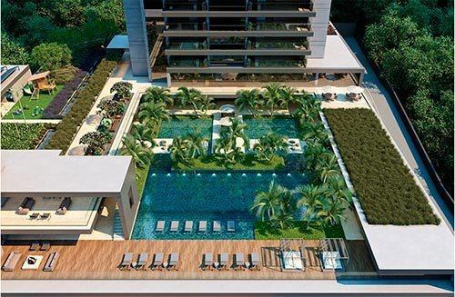 Apartamento 04 Quartos, 04 Vagas No Bairro Vila Da Serra - 2493