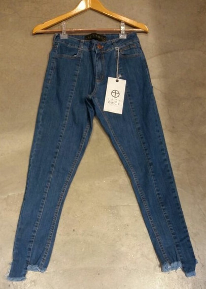 Calça Jeans Feminina Cintura Média Skinny Lady Rock Original