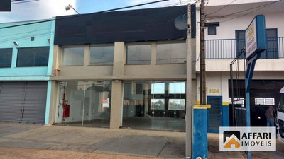 Salão Para Alugar, 230 M² Por R$ 4.500/mês - Vila Frezzarin - Americana/sp - Sl0147