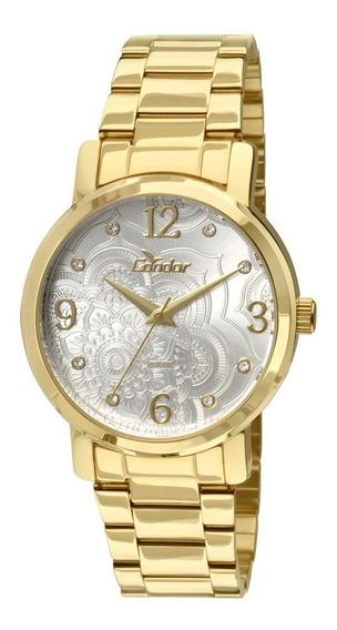 Relógio Condor Feminino Co2036co/4b Dourado Analogico
