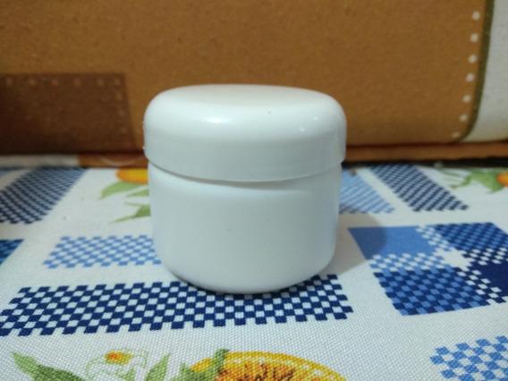 Tarro Frasco Pomadero 60ml De Plastico Paquete De 10