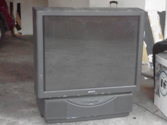Tv Sony Videor Rear Color Kp 41t15