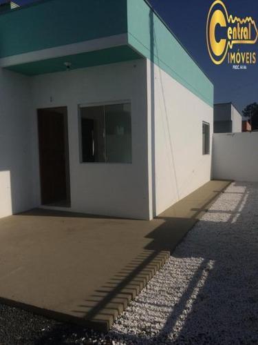 Casa  Com 2 Dormitório(s) Localizado(a) No Bairro Nossa Senhora Da Paz Em Balneário Piçarras / Balneário Piçarras  - 365