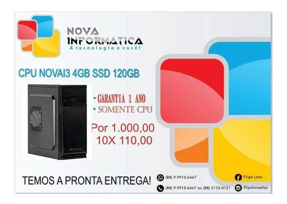 Cpu I3 4130 4gb 500gb