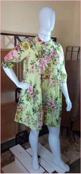 Saída De Praia/túnica /vestido/ Moda Indiana C380