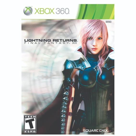 Lightning Returns Final Fantasy Xiii - Xbox 360 - Lacrado