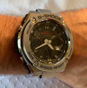 Relógio Casio G-shock Gst-s110d-1acr - Usado