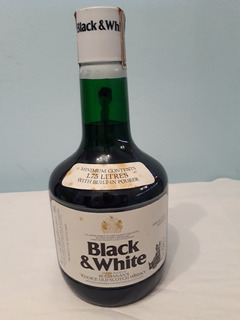Whisky Black & White Origen Escoces Añejo