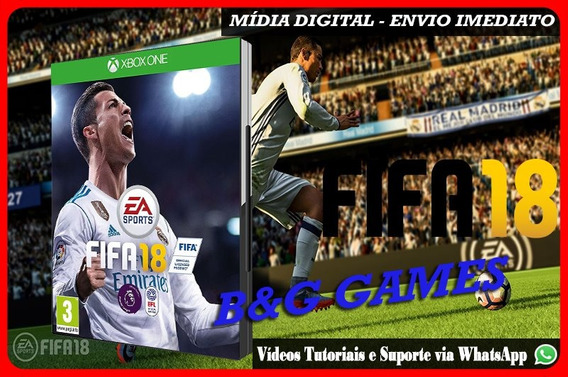 Fifa 18 Midia Digital 2018 Xbox One