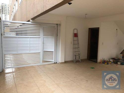 Casa Com 3 Dormitórios À Venda, 145 M² Por R$ 750.000,00 - Marapé - Santos/sp - Ca0549