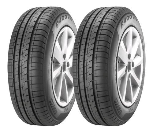Cubiertas 195/55/15 Pirelli P400evo Intalacion Envios Cuotas