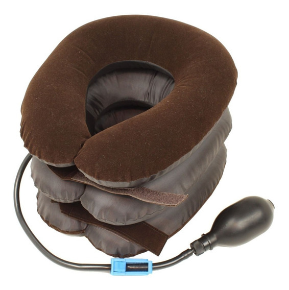 Collarín Neumático Cervical Tres Almohadas Neck Comforter