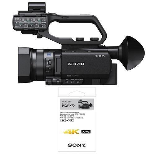 Filmadora Sony Pxw-x70 Xdcam Hand-held Camcorder