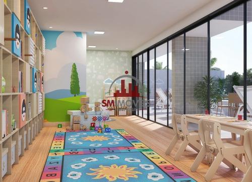 2 Dormitórios Sendo 1 Suíte Na Vila Mirim Praia Grande - Ap02600 - 69231979