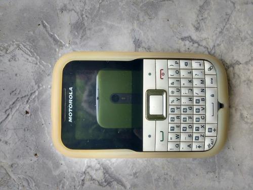 Celular Motorola Ex108 Bateria Zerou Não Esta Ligando