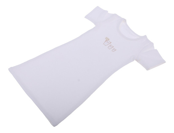 Camisa Larga De Mangas Cortas De Cuello Redondo Para 1/3 Bjd