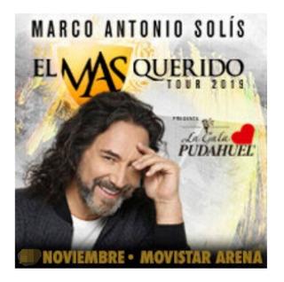 Entrada Concierto Marco Antonio Solis 30 Noviembre 2019