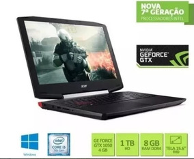Notebook Gamer Acer Vx5-591g-54pg Intel Core I5 8gb 1tb Hd