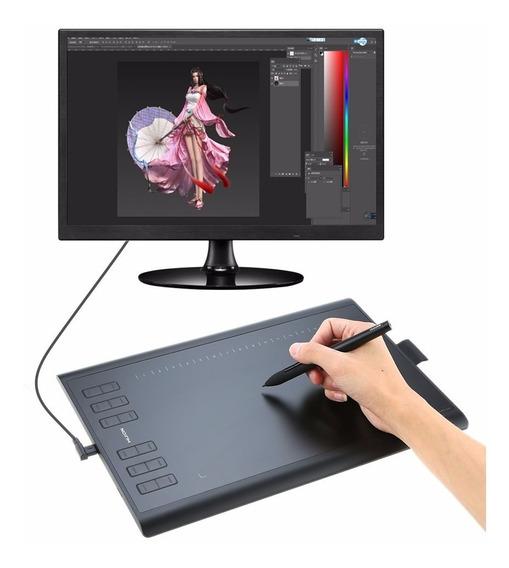 Mesa Digitalizadora Huion New 1060 Plus 10 Polegadas Pro