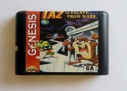Taz In Escape From Mars Português Mega Drive Genesis Tectoy