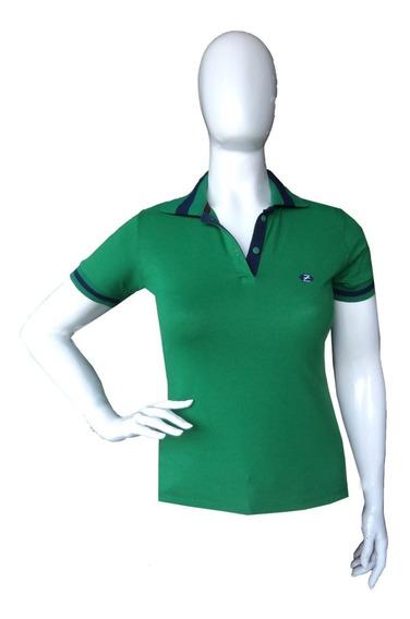 Kit 4 Camisa Polo Feminina Blusa Camiseta Zambelê