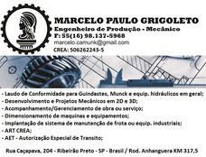 Laudo Técnico Plano De Manut. P/ Guindaste/equip Hidráulicos