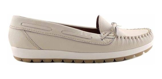 Mocasín Mujer Cuero Briganti Zapato Chatita - Mcmo03593