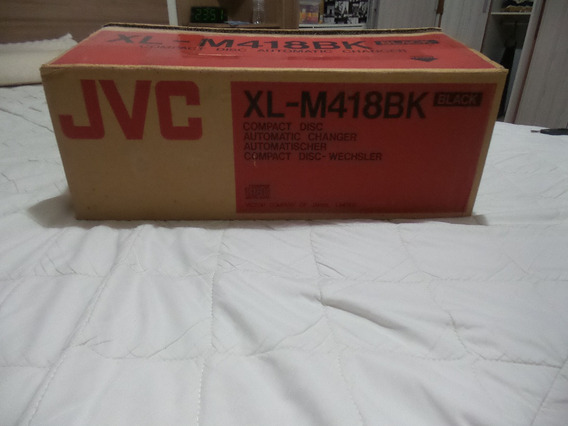 Cd Player Jvc Xl-m418bk Automatic Changer (carrossel)