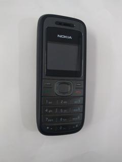 Lote 5 Nokia 1208 Semi-novo -desbloqueado