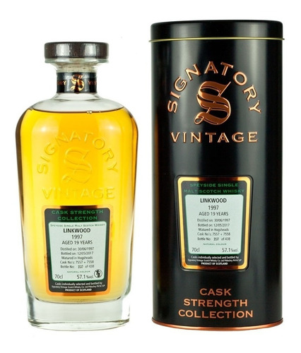 Whisky Linkwood 1997 19 Años Signatory Cask Strength 57,1%