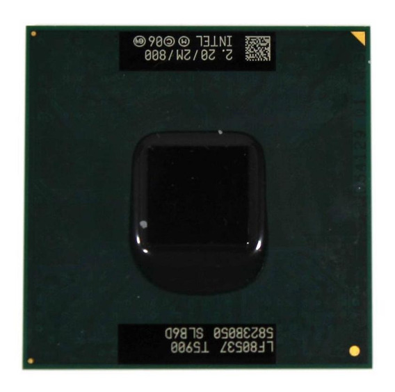 Processador Notebook Intel Core 2 Duo T5900 2.00ghz (11273)