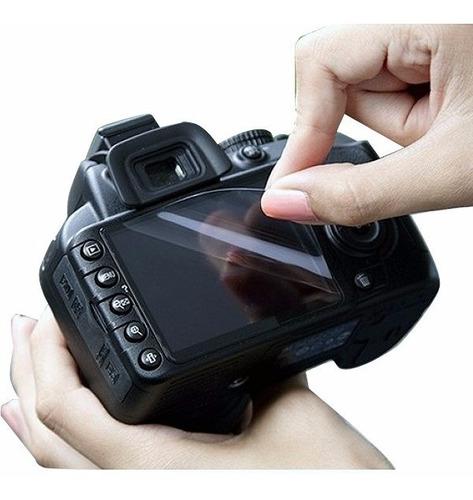 Protector Pantalla Film Rhino Para Canon 5d Mark Ii+ Paño X3