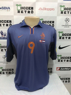 Camisa Holanda Euro 2000 Away Kluivert 9