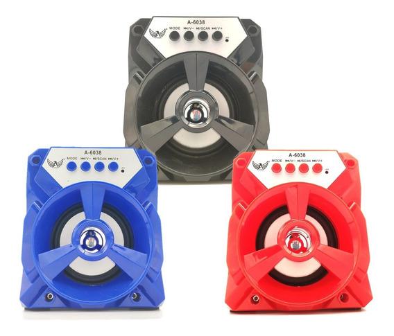 Caixa Som Bluetooth Usb Sd Rádio - 3 Caixas - Garantia E Nf