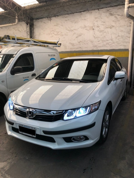 Honda Civic 2012 Exs At Full 70000km Impecable