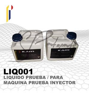 Liquido De Prueba De Inyectores Limpia