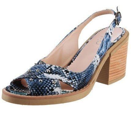 Sandalia Azul Pink