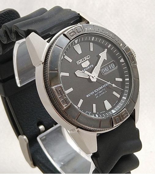 Relógio Seiko 5 Sports 7s36-03d2 Preto Perfeito Estado Lindo