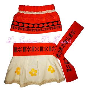 Disfraz Traje De Moana, La Costura De Raymi