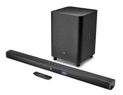 Soundbar Jbl Bar 3.1 Com Subwoofer Sem Fio Hdmi 4k Arc