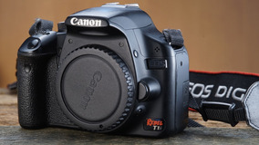 Camera Canon Eos T1i + Lente Helios M42 Adaptador Acessorios