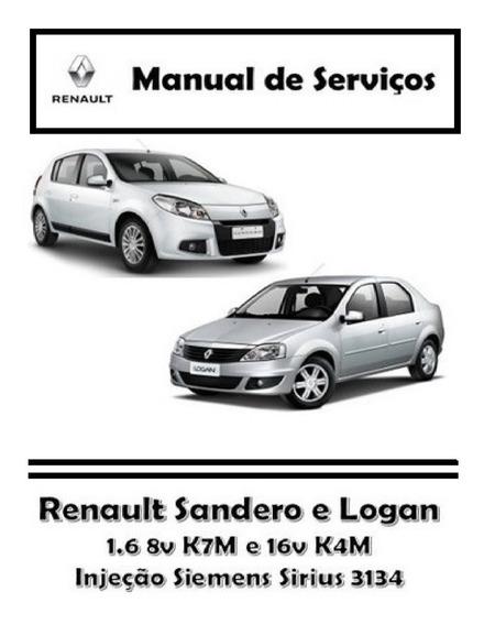 Manual De Serviços - Renault Sandero E Logan 1.6 8v E 16v